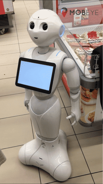 Robot Herta Pepper